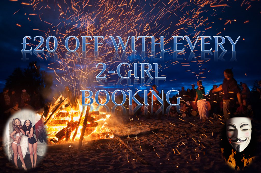 Hedonist VIP £20 off with 2 girl booking
